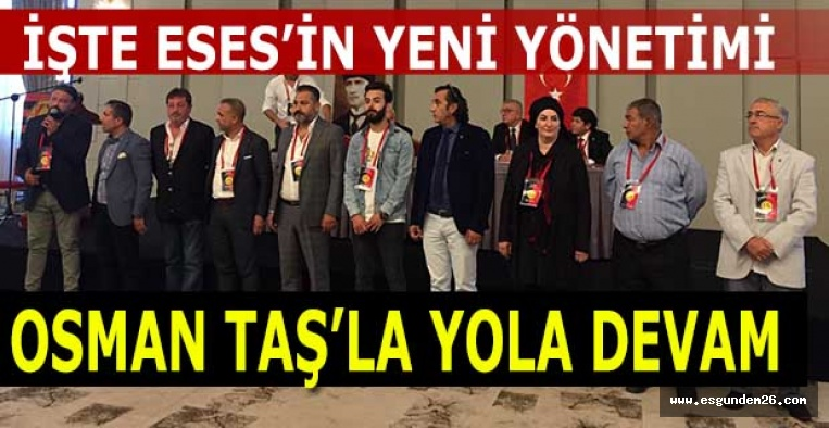 "OSMAN TAŞ ""DEVAM"" DEDİ"