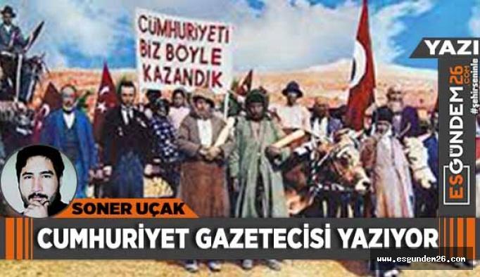 CUMHURİYET GAZETECİSİ