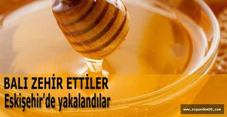 Eskişehir'de 155 kilogram sahte bal ele geçirildi