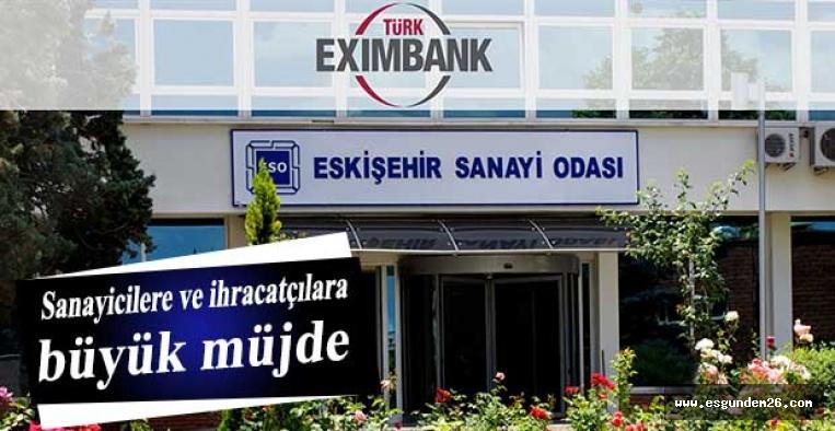İlk şubesini Eskişehir Sanayi Odası'nda açıyor