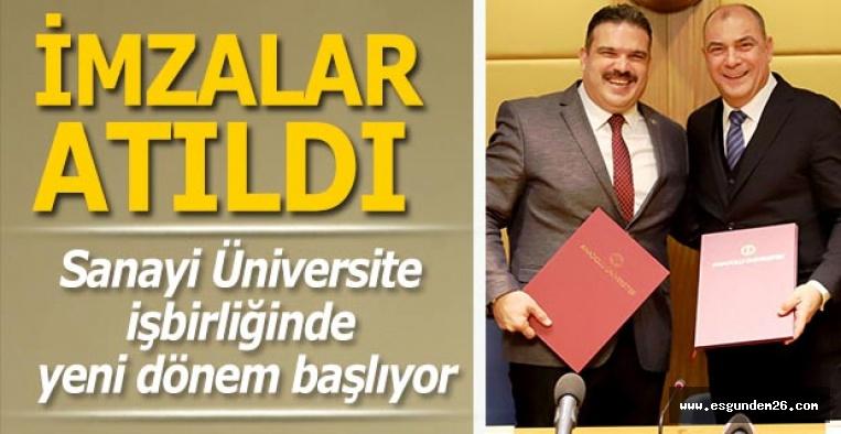 Sanayi Üniversite işbirliğinde yeni dönem başlıyor