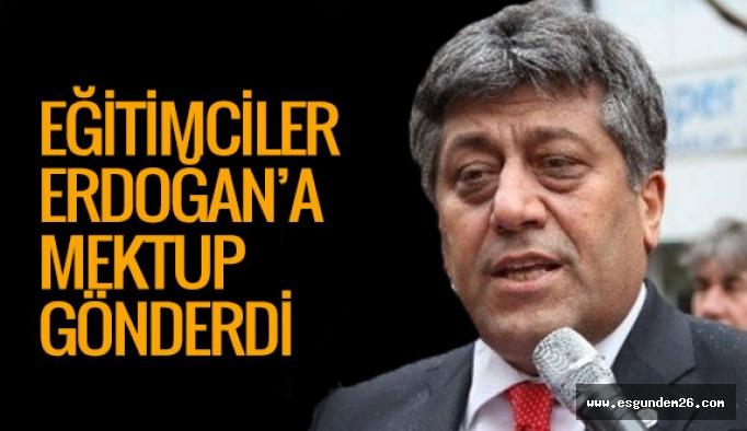 Türk Eğitim-Sen'den Cumhurbaşkanına mektup