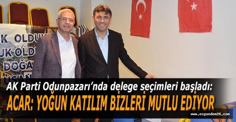 AK Parti Odunpazarı'nda delege seçimleri başladı
