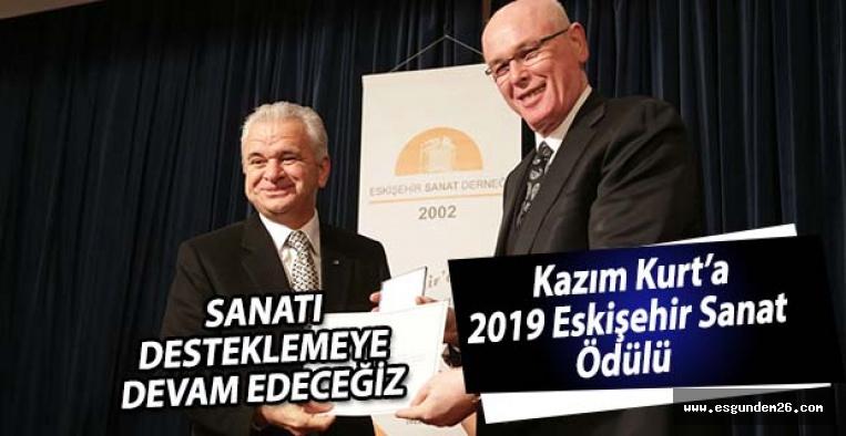 Kazım Kurt'a 2019 Eskişehir Sanat Ödülü