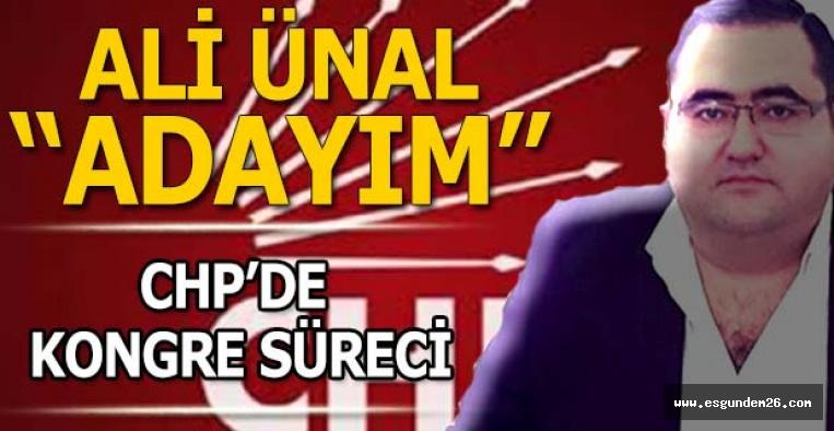 """""""CHP'Yİ İKTİDARA TAŞIMAK İÇİN ADAYIM"""""""