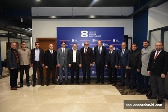 EOSB ve ESO yeni yatırım stratejilerini görüştü