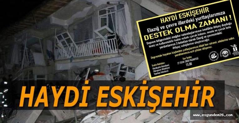 ESKİŞEHİR ELAZIĞ'A EL UZAT