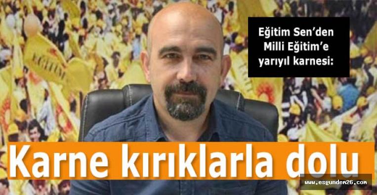 Faik Alkan: Kamusal eğitim siyasal iktidar tarafından bitirilmiştir