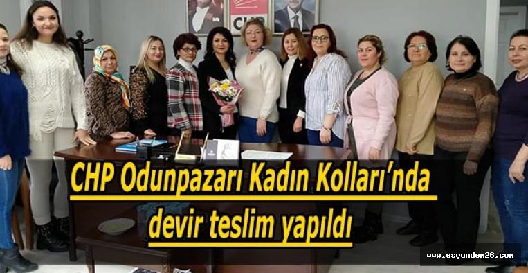 CHP Odunpazarı Kadın Kolları'nda devir teslim yapıldı