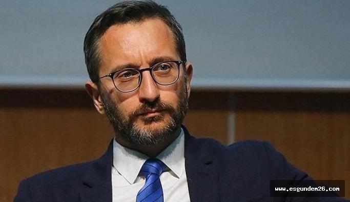 Cumhurbaşkanlığı İletişim Başkanı Altun,: Suriye'deki operasyonların devam edecek