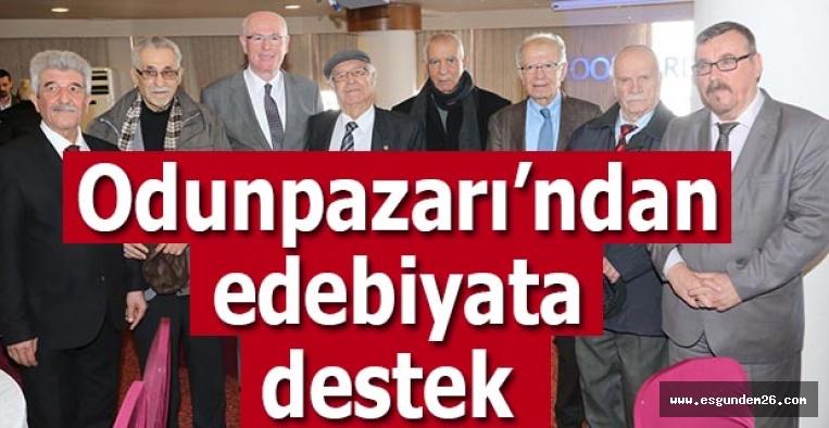 Odunpazarı Belediyesi Eskişehirli edebiyatçılara destek verecek