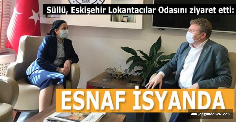 CHP'li Süllü: Esnaf isyanda