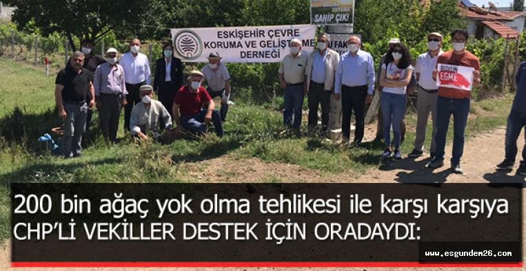 """""""BEYLİKOVA'DA DOĞA İÇİN ADALET İSTİYORUZ"""""""