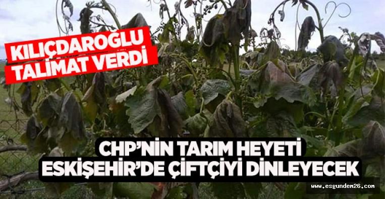 CHP'nin tarım heyeti Eskişehir'de çiftçiyi dinleyecek