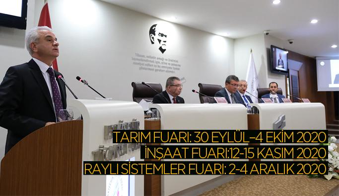 ETO Başkanı Güler, Eskişehir fuar takvimini açıkladı