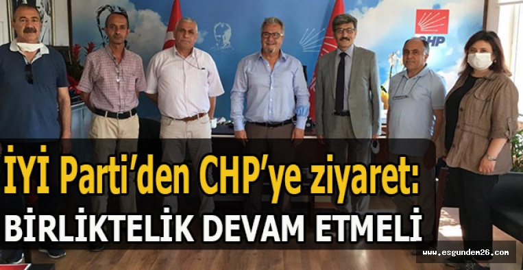 İYİ Parti'den CHP'ye ziyaret