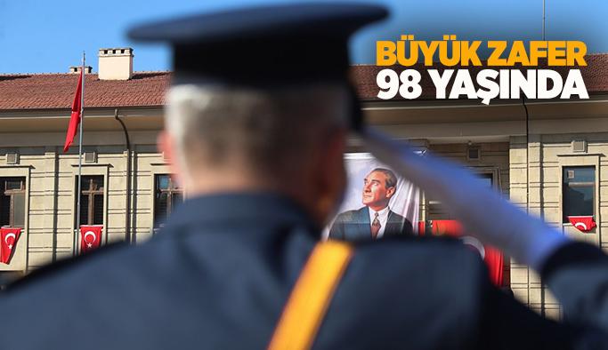 30 Ağustos Zafer Bayramı'nın 98'inci yılı Eskişehir'de törenle kutlandı