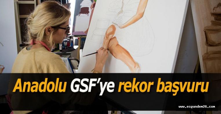 Anadolu GSF'ye rekor başvuru
