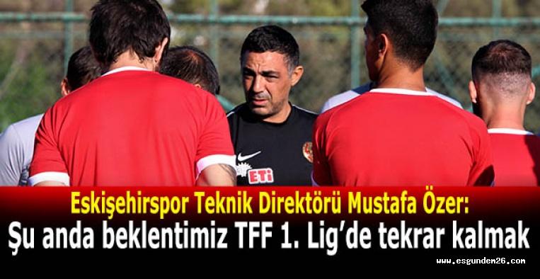 Eskişehirspor gençleriyle arma mücadelesi verecek