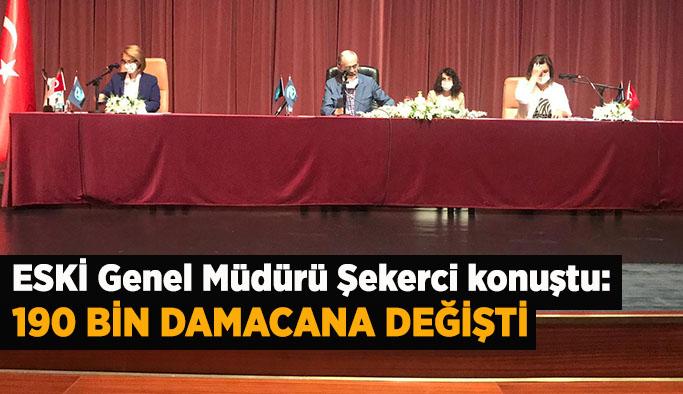 ESKİ Genel Müdürü Şekerci :190 bin damacana değişti