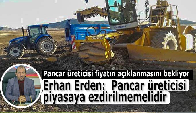 Eskişehir'in Seyitgazi ilçesinde pancar üreticisi alım fiyatlarının açıklanmasını bekliyor