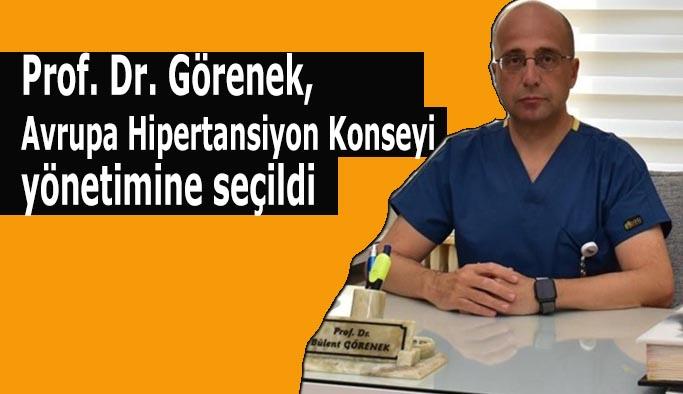 Prof. Dr. Görenek, Avrupa Hipertansiyon Konseyi yönetimine seçildi