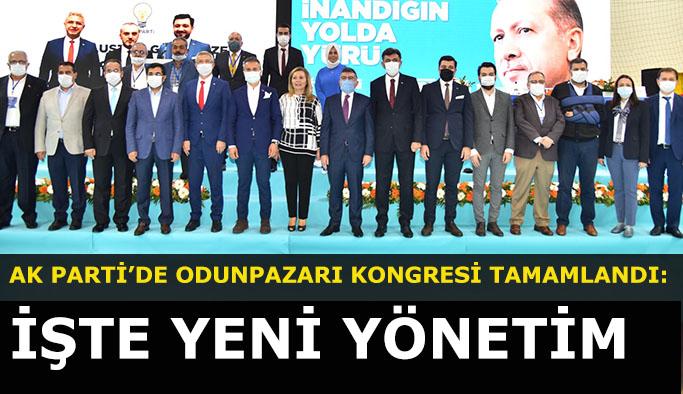 AK PARTİ'DE ODUNPAZARI KONGRESİ TAMAMLANDI