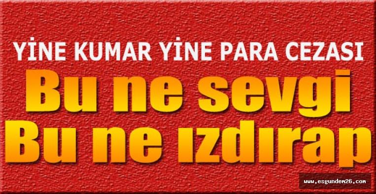 Eskişehir'de 60 kişiye 219 bin liralık ceza