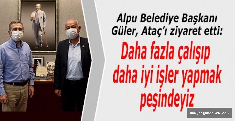 Gürbüz Güller'den Ahmet Ataç'a ziyaret