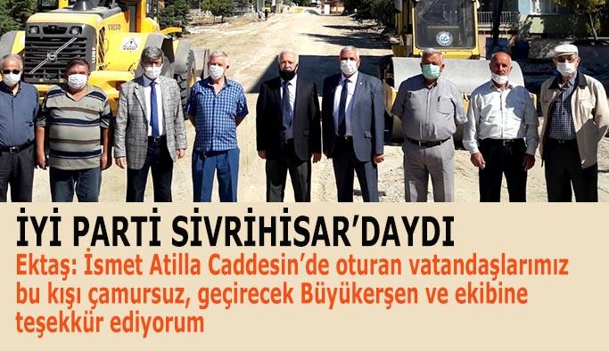 İYİ PARTİ SİVRİHİSAR'DAYDI