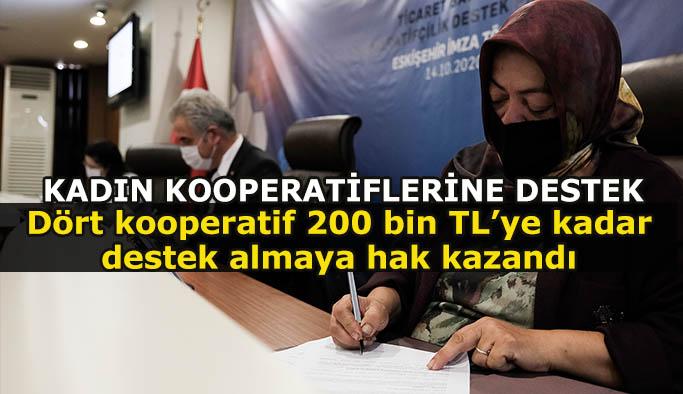 Ticaret Bakanlığı'ndan kadın kooperatiflerine destek