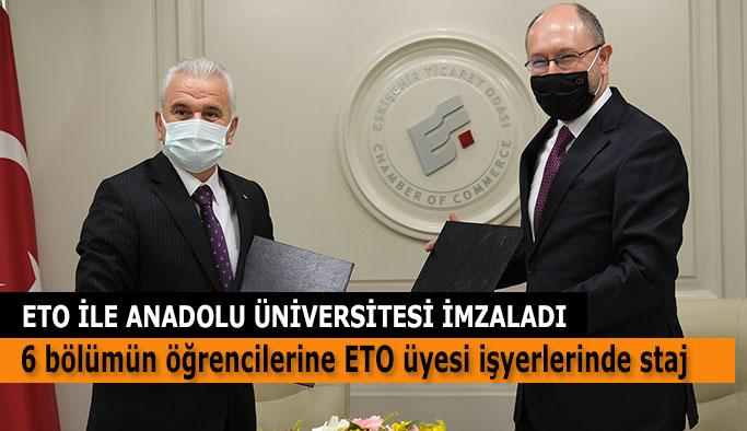 Anadolu Üniversitesi öğrencileri ETO üyesi işyerlerinde staj