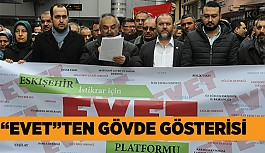"""93 SİVİL TOPLUM ÖRGÜTÜ """"EVET"""" DEDİ"""