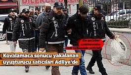 Eskişehir'de yüklü miktarda uyuşturucu getiren 3 kişi adliyeye sevk edildi