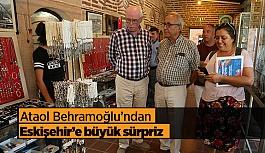 Ataol Behramoğlu'ndan Eskişehir'e büyük sürpriz