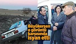 BÜYÜKERŞEN'DEN KARAYOLLARINA 'YOL' TEPKİSİ