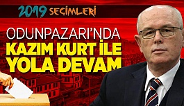 ODUNPAZARI KAZIM KURT'A EMANET
