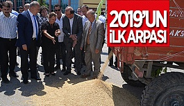 ETB'YE 2019 YILI İLK MAHSULU GELDİ