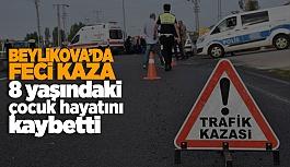 Beylikova'da feci kaza