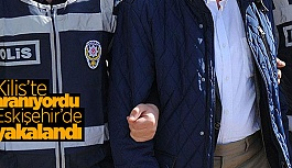 FETÖ şüphelisi Eskişehir'de yakalandı