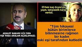 Adalet Bakanı Gül: En ufak ihmal tespit halinde…
