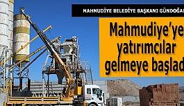 Mahmudiye'ye yatırımcılar gelmeye başladı