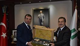Beylikdüzü Belediyesinden Başkan Ataç'a ziyaret
