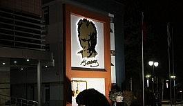 Odunpazarı'nın Atatürk rölyefi...