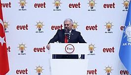 AK Parti 'Evet' kampanyasına başladı