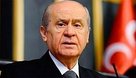 Bahçeli'den Cumhurbaşkanı'na eleştiri