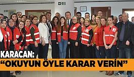 Karacan, Sistem Değişikliğini Kızılay'da Anlattı