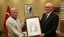 Yaşlı Merkezi'nden Başkan Kurt'a  ziyaret