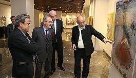 Hanefi Yeter, resim ve heykel sergisi ile Odunpazarı'nda