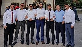 AK Parti Gençlik Kolları Başkanları...